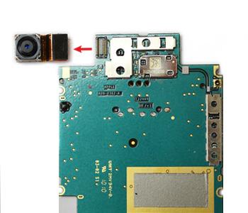 ETAPE 6b : Retirer la caméra