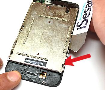 ETAPE 8c : Retirer l'écran LCD du chassis