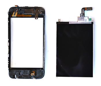 ETAPE 8e : Retirer l'écran LCD du chassis