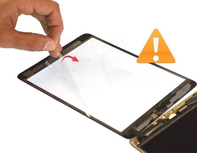 Etape 17c : Nettoyer le LCD