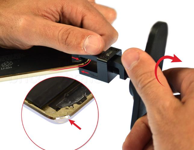 Etape 17d : Nettoyer le LCD