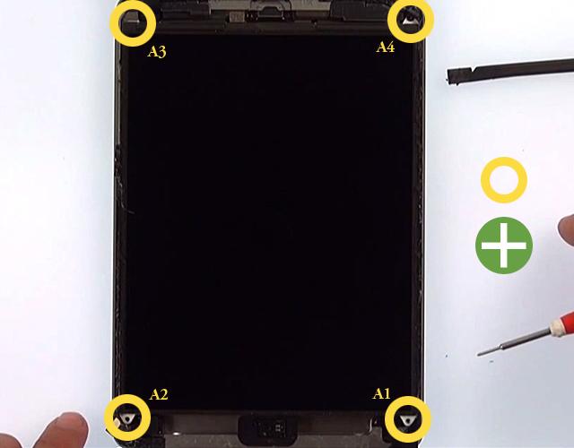 Etape 2b : Détachez le LCD