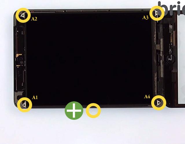 Etape 5i : Remontage avec une nouvelle vitre