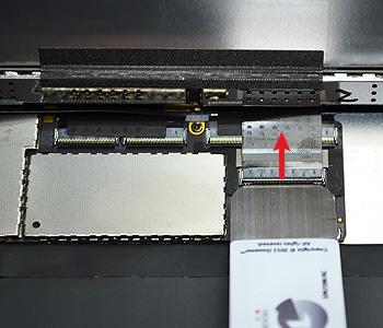 ETAPE 7e : Retirer le LCD