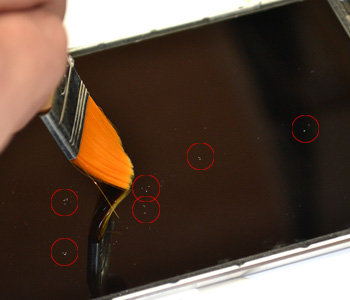 ETAPE 7c : Retirer le LCD