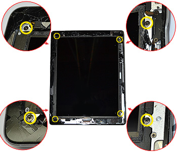 ETAPE 7a : Retirer le LCD
