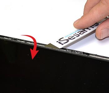 ETAPE 7b : Retirer le LCD