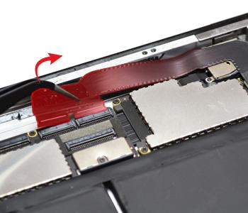 ETAPE 9c : éconnecter la nappe jack