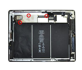 ETAPE 12a : Décoller la batterie