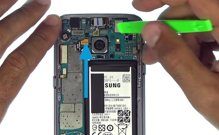 Etape 6 : Déconnecter la batterie