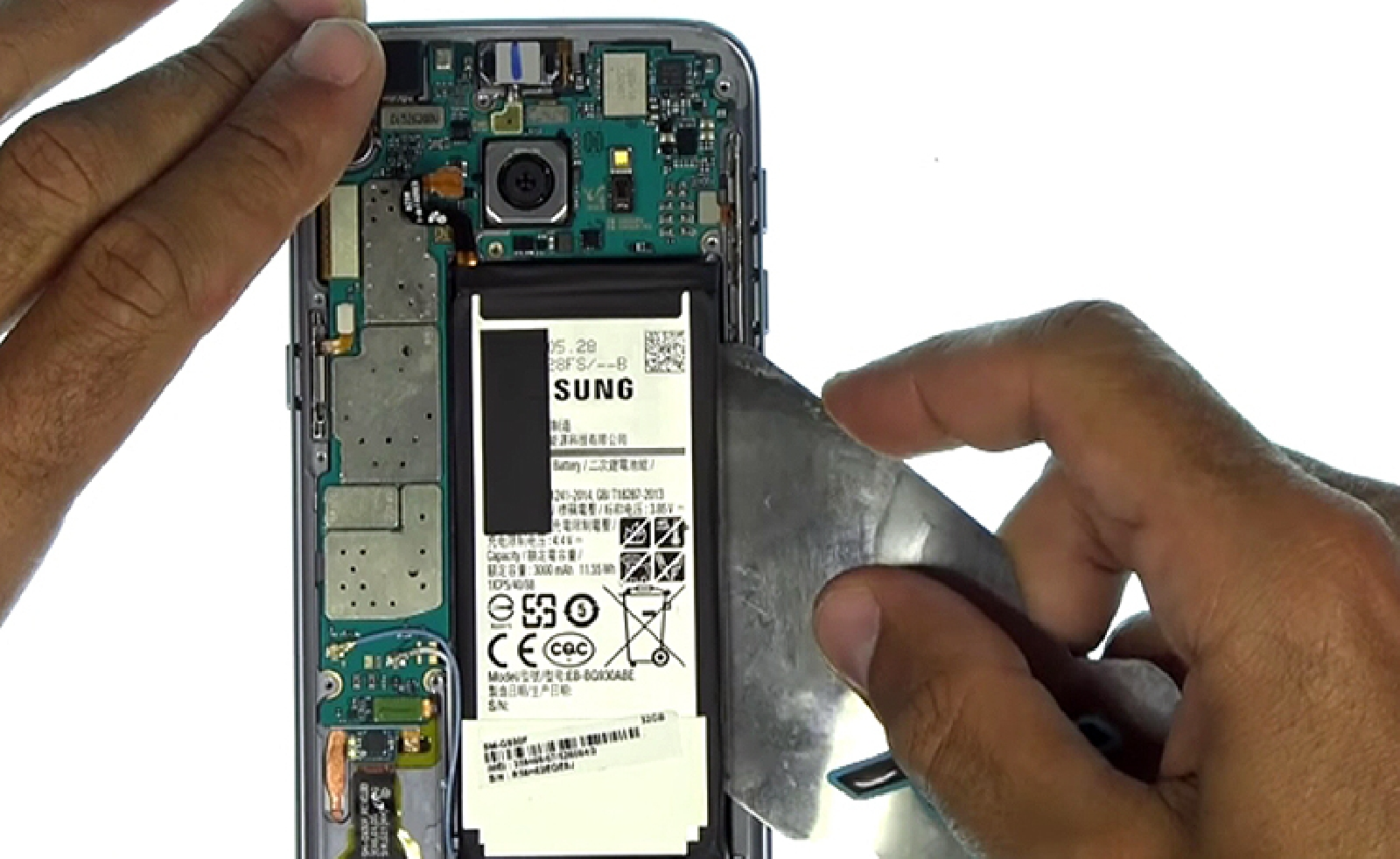 Etape 7: Retirer la batterie