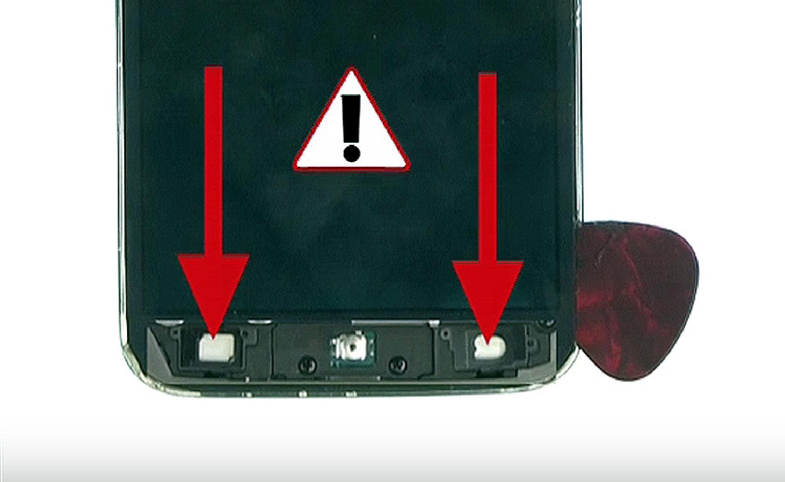 Etape 5 : Décollez le bloc écran