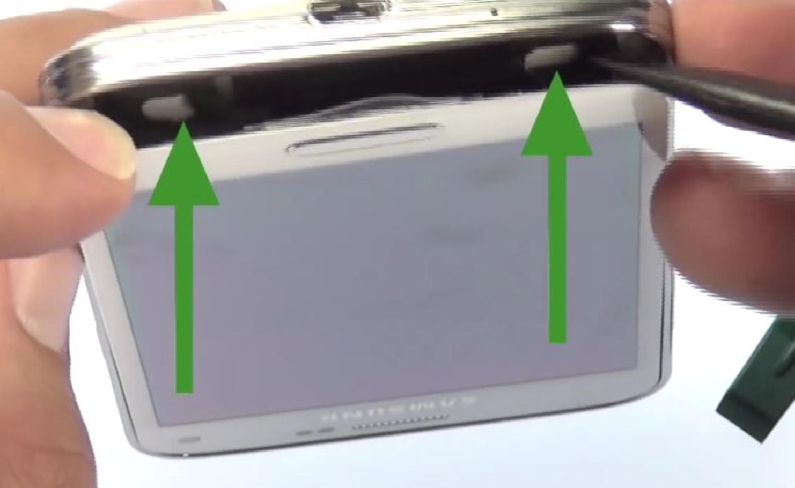 Etape  4 : Décoller l'écran