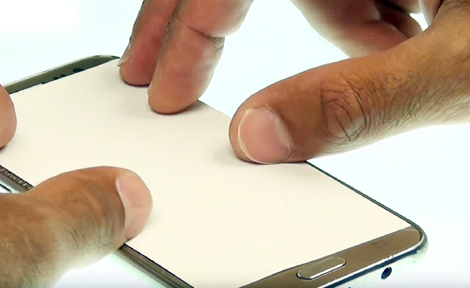 Etape 4 : Chauffer le contour de l'écran