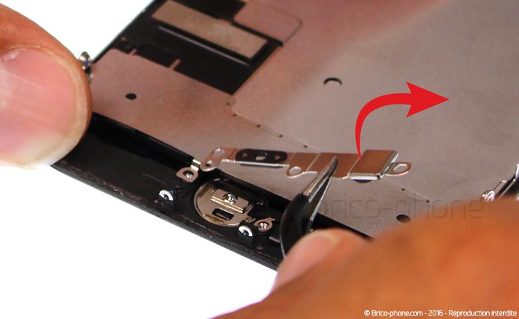 Etape 10 : Retirer la plaquette de protection de la nappe Home