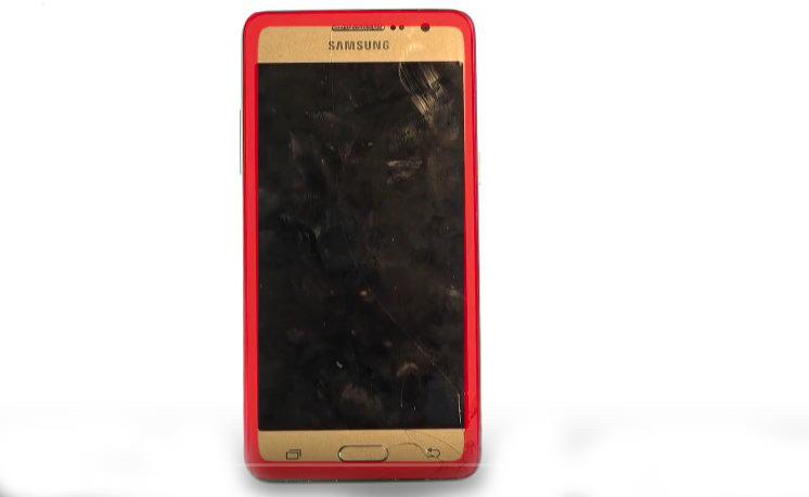 Etape 1-E : Ouvrez le Samsung Grand Prime