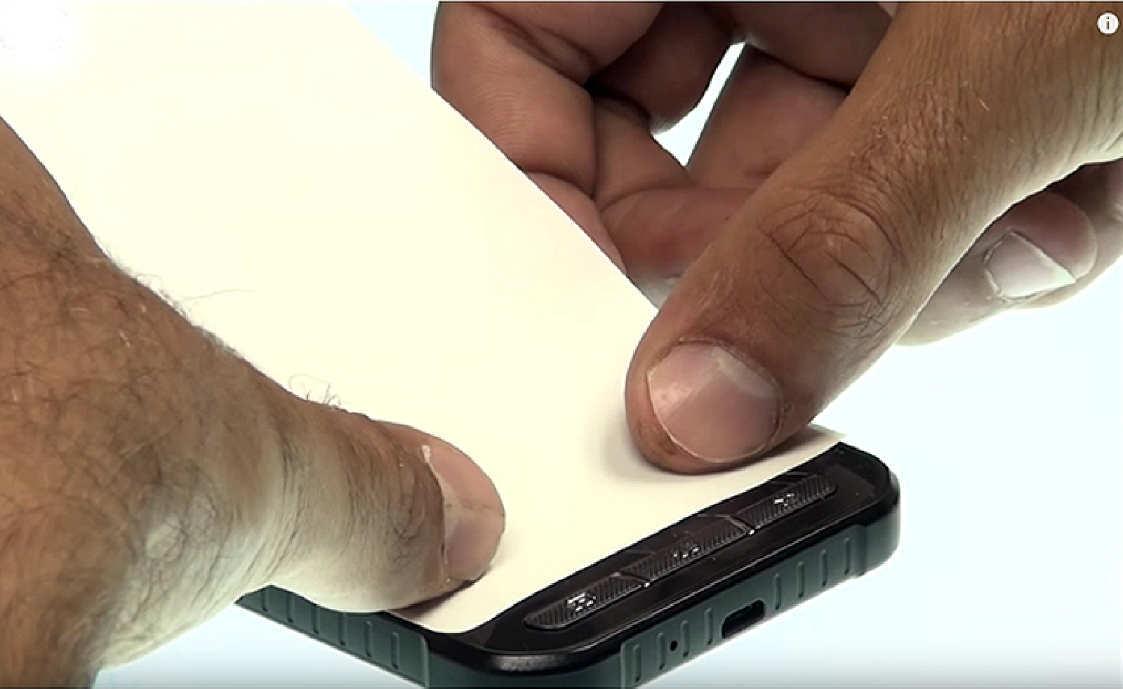 Etape 4 : Appliquer le papier thermique