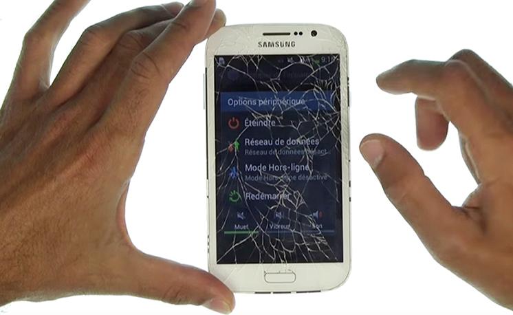 Eteignez votre appareil avant toute réparation