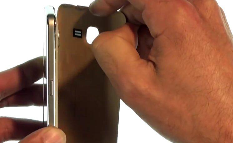 Etape 1 : Ouvrez le Samsung Grand Prime