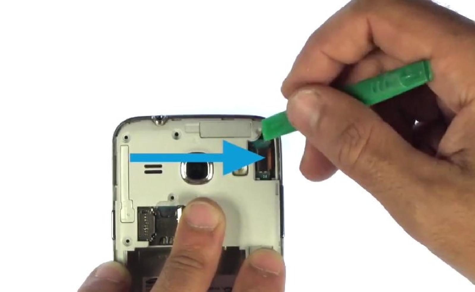 Etape 5 : Déconnecter l'écran