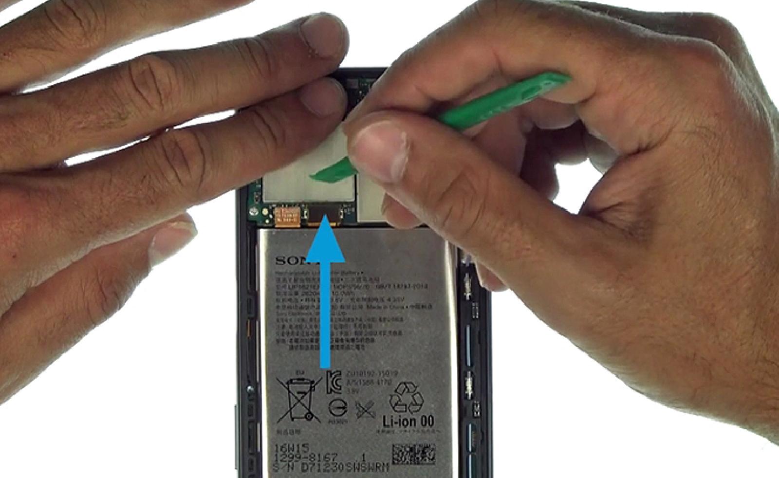 Etape 3 : Déconnecter la batterie