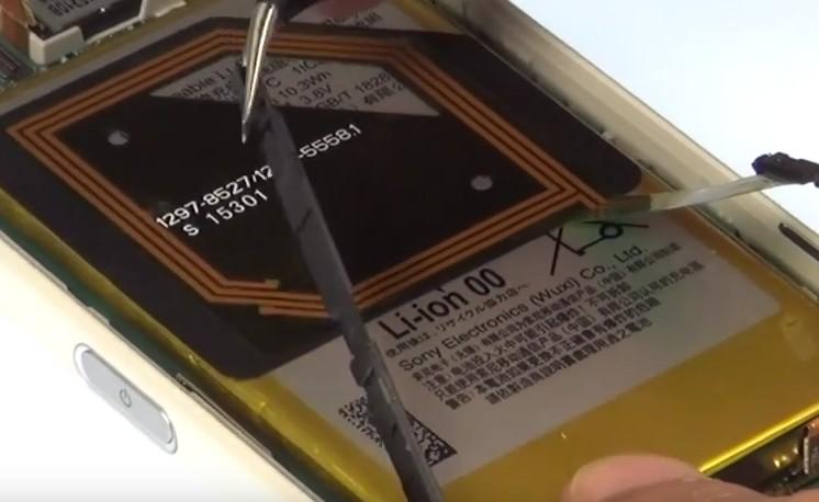 Etape 3/3 : Retirez le bloc carte-mère/batterie