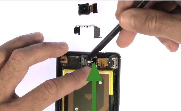 Etape 3/6 : Retirer le bloc carte-mère / Batterie