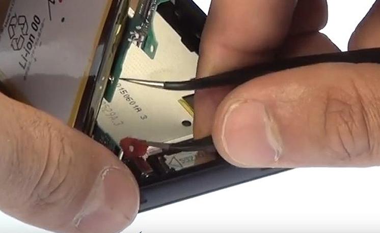 Etape 3/10 : Retirer le bloc carte-mère / Batterie