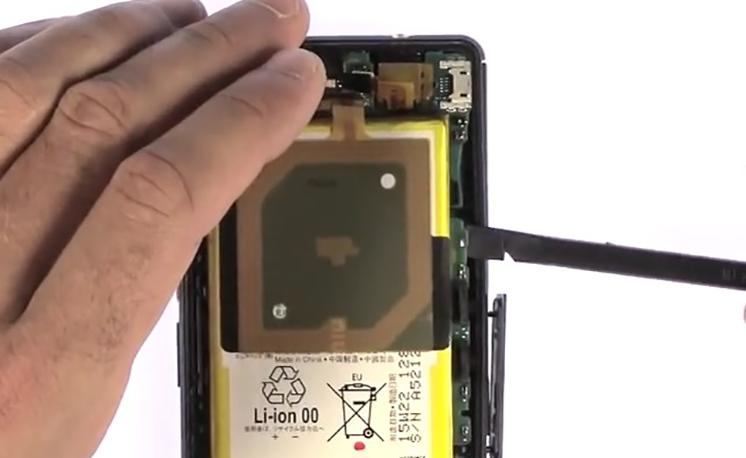 Etape 3/8 : Retirer le bloc carte-mère / Batterie