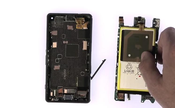 Etape 3/14 : Retirer le bloc carte-mère / Batterie