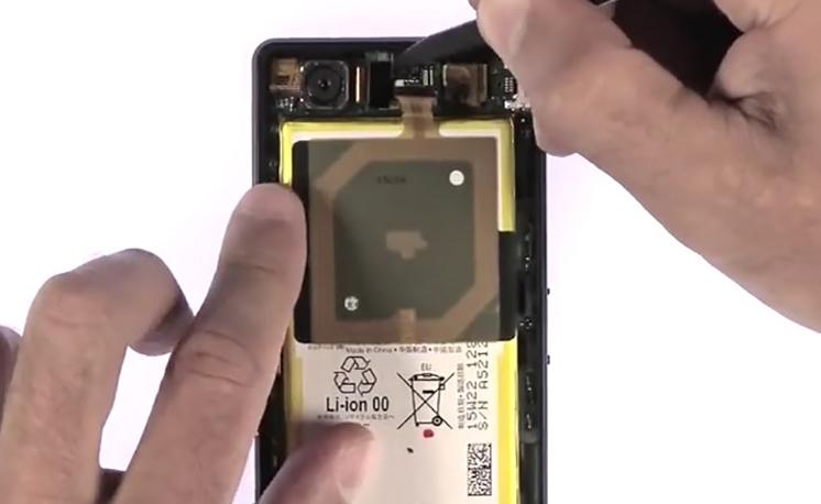 Etape 3/2 : Retirer le bloc carte-mère / Batterie