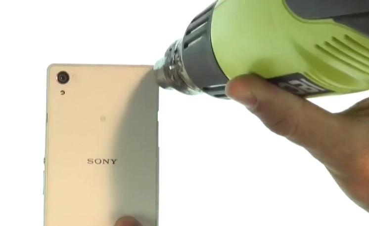 Etape 1 : Ouvrez le sony Xperia Z2