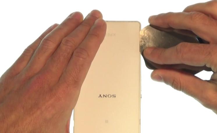 Etape 1/3 : Ouvrez le sony Xperia Z2