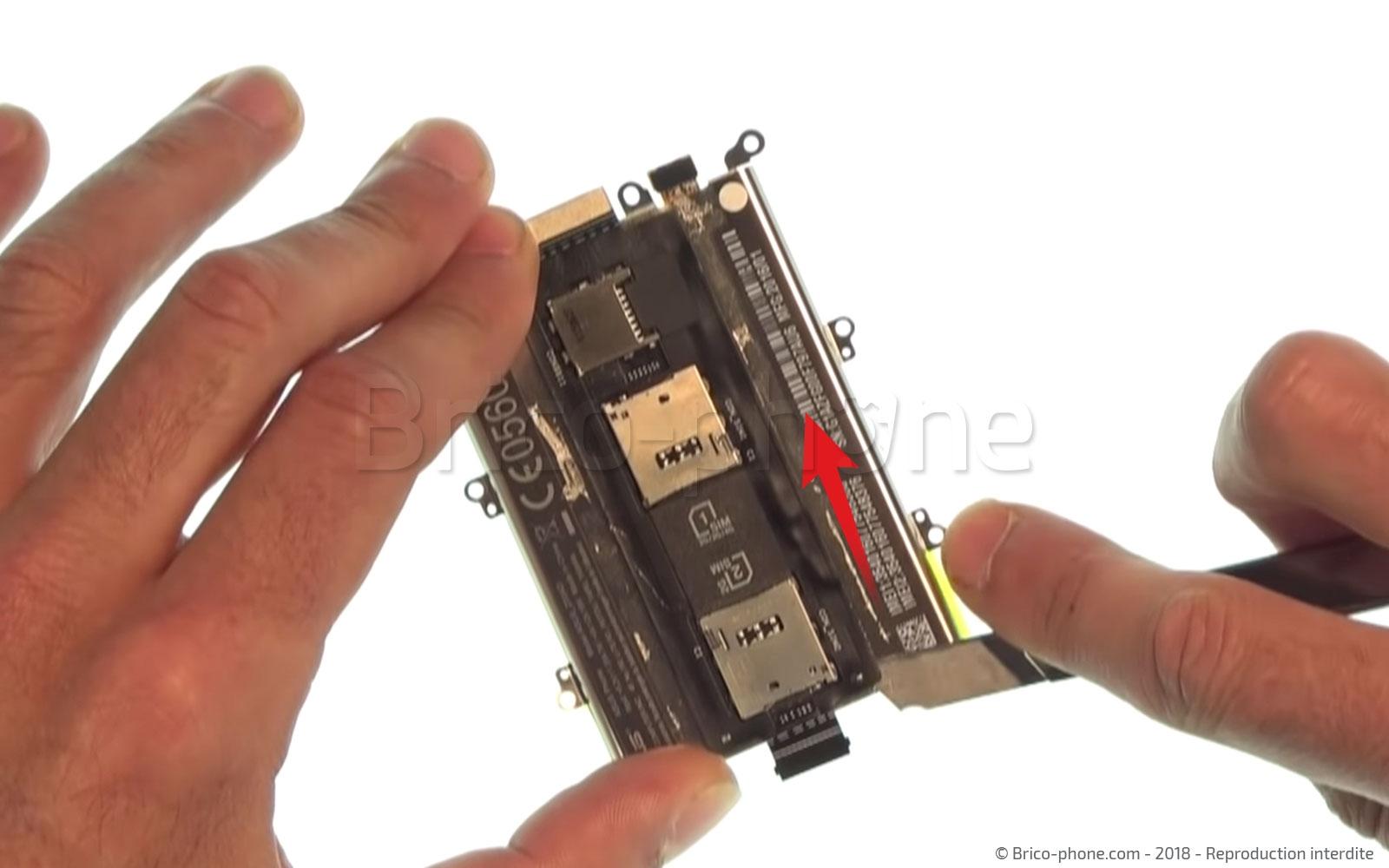 Etape 8 : Récupérer la nappe gérant les lecteurs de cartes