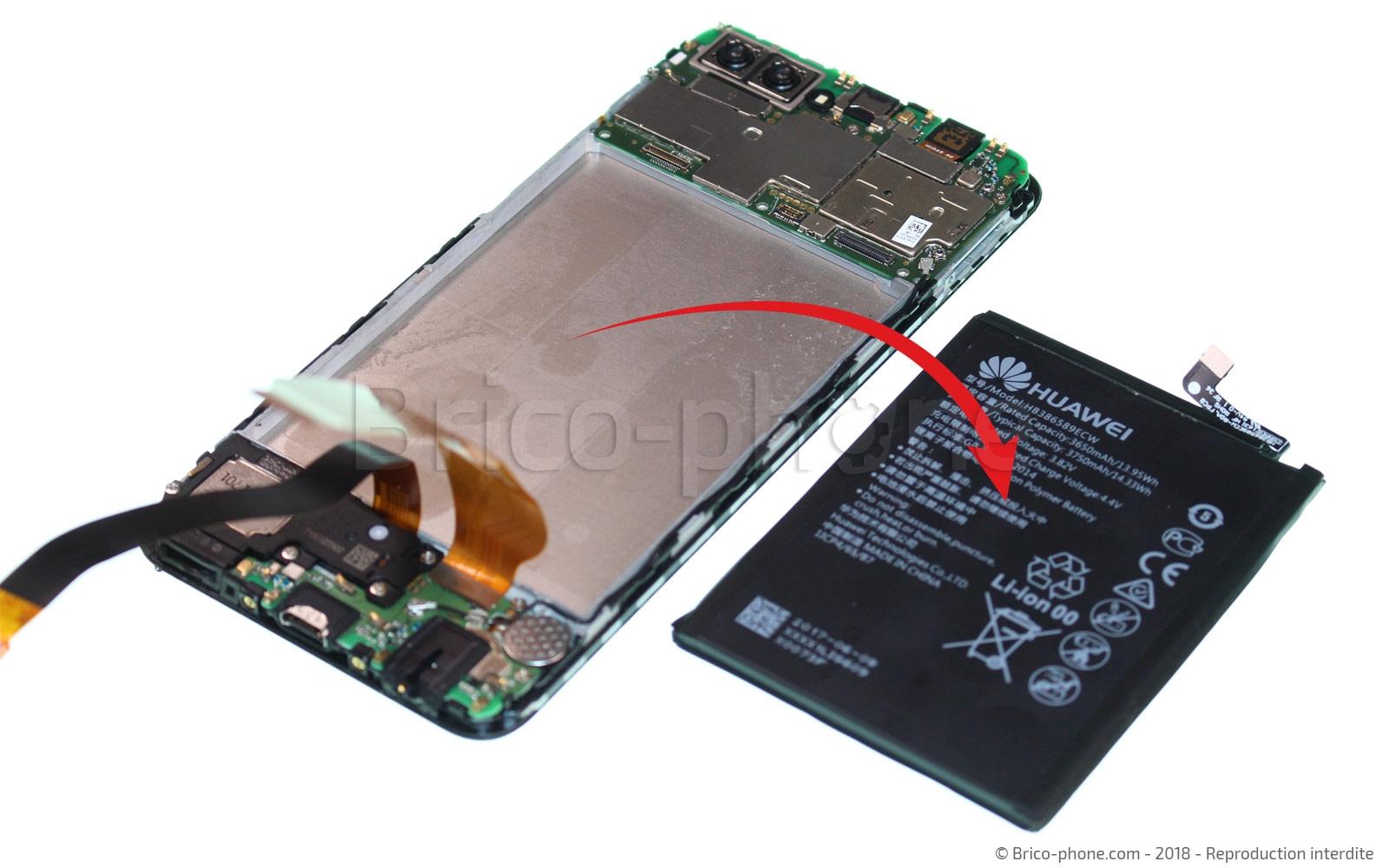 Etape 14 : Extraire la batterie
