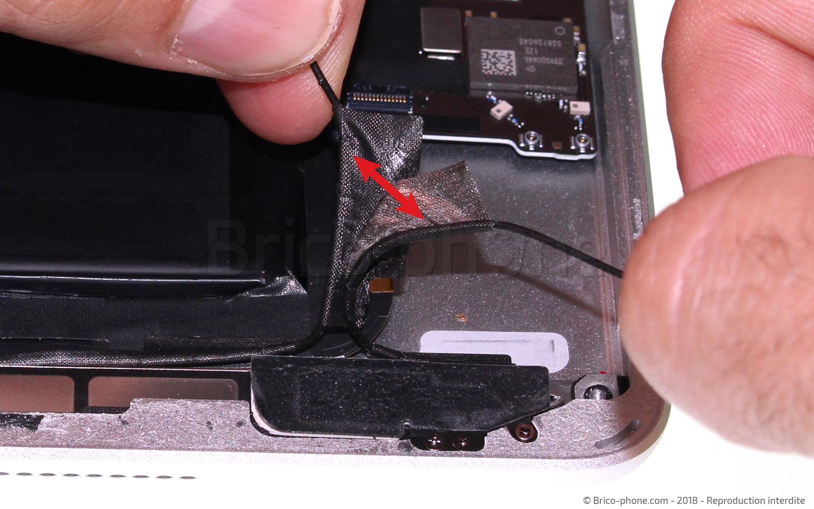 Etape 17 : Séparer les câbles coax