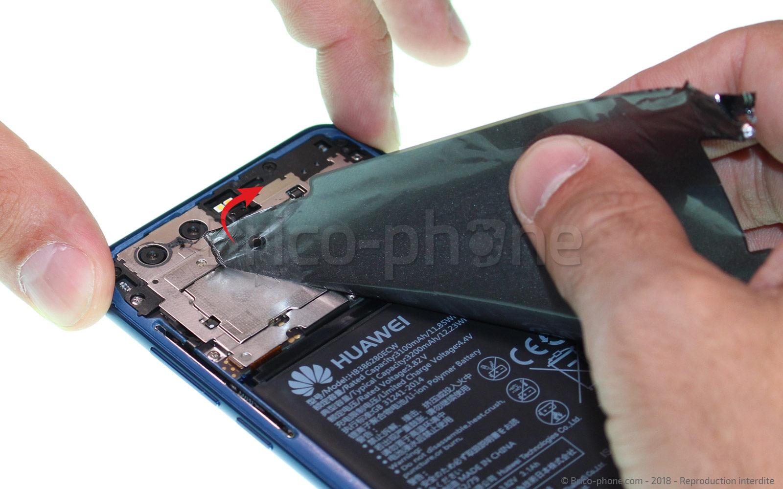 Etape 4 : Retirer le film de protection thermique