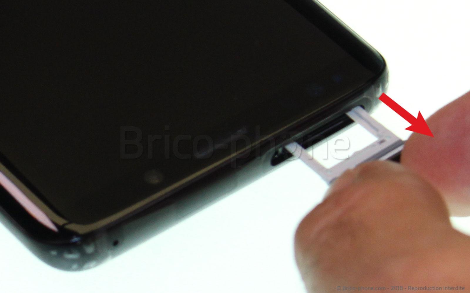 Etape 1 : Préparer le S9 pour la réparation