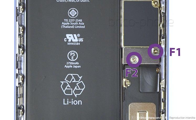 Etape 2 : Déconnecter la batterie