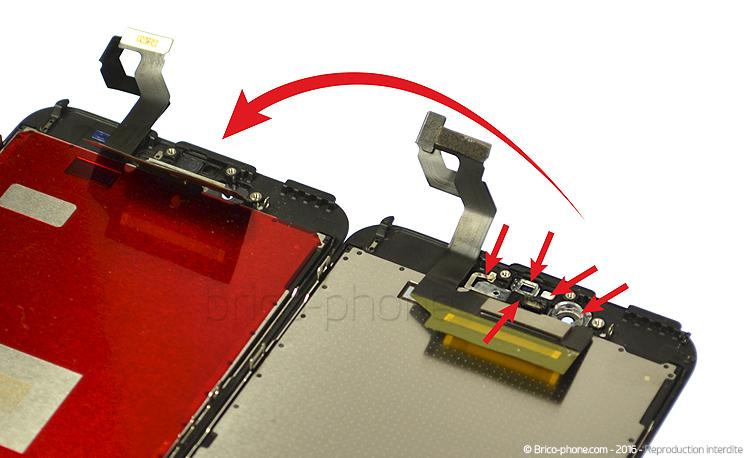 Etape 6 : Conseils pour le remontage de l'écran