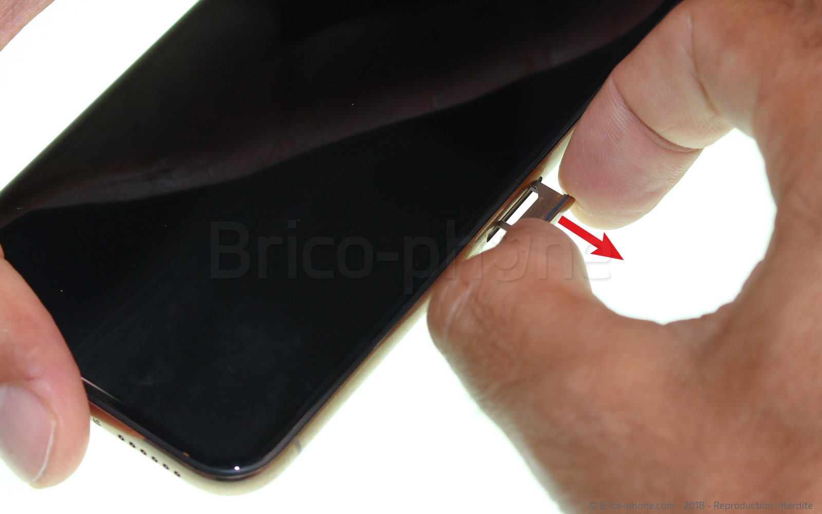 Etape 2 : Eteindre l'iPhone