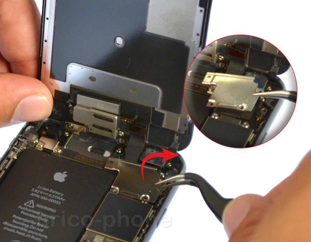 Etape 5 : Retirer la plaquette de protection des nappes de l'écran