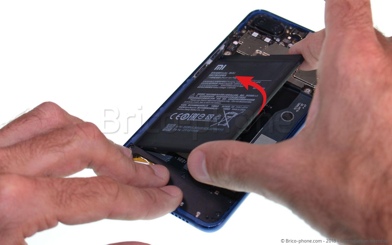 Etape 10 : Retirer la batterie