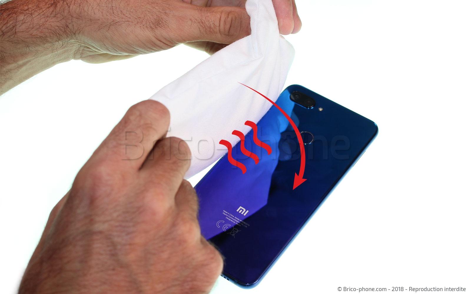 Etape 2 : Chauffer la vitre arrière (Seconde méthode)