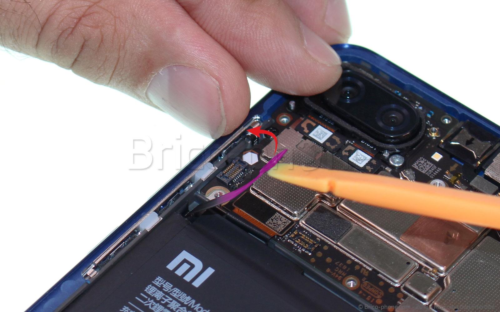 Etape 7 : Déconnecter la batterie