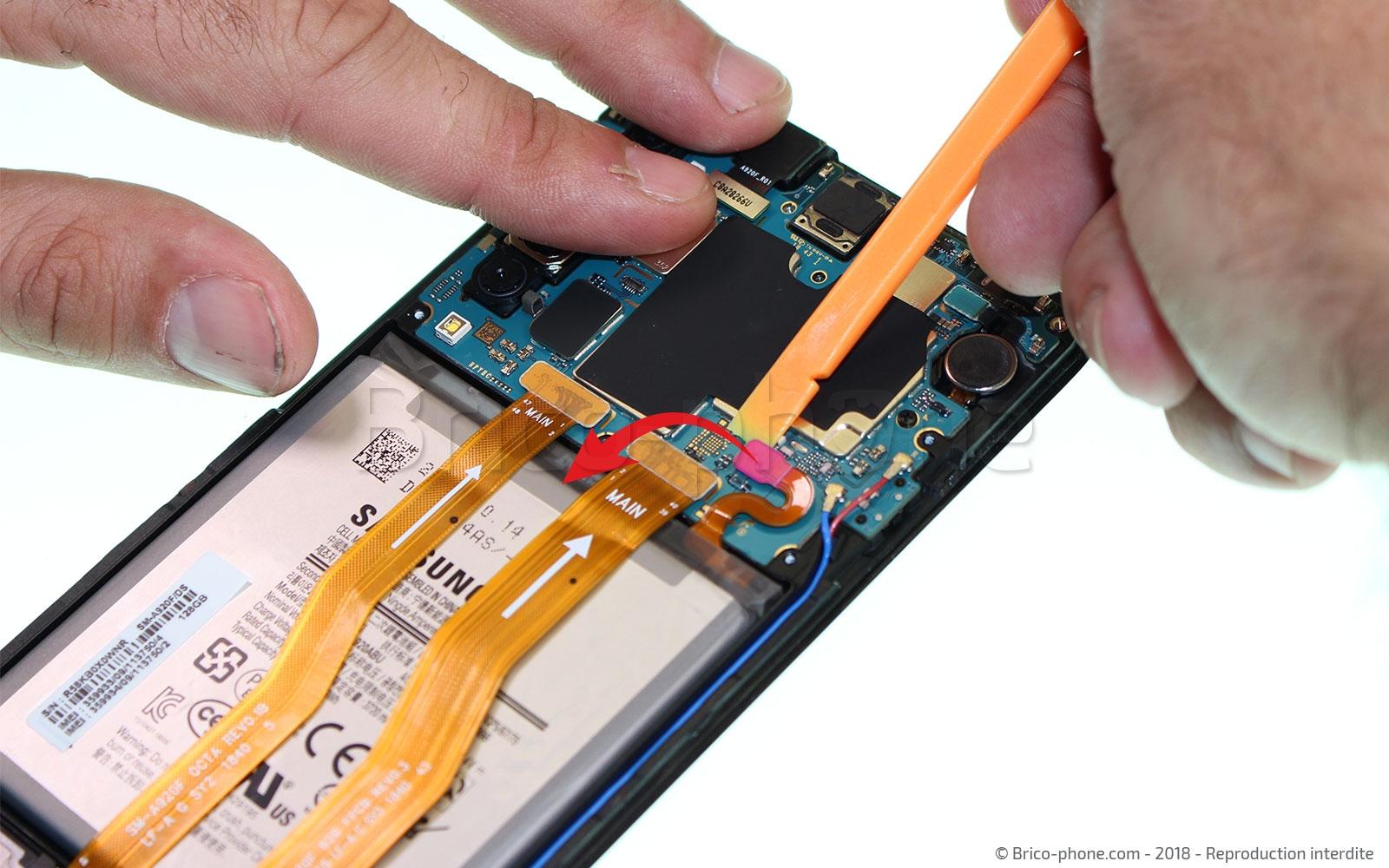 Etape 9 : Déconnecter la batterie
