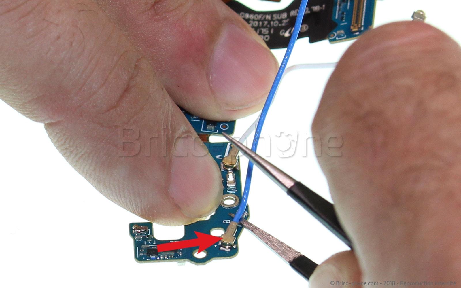 Etape 12 : Récupérer les câbles coaxiaux