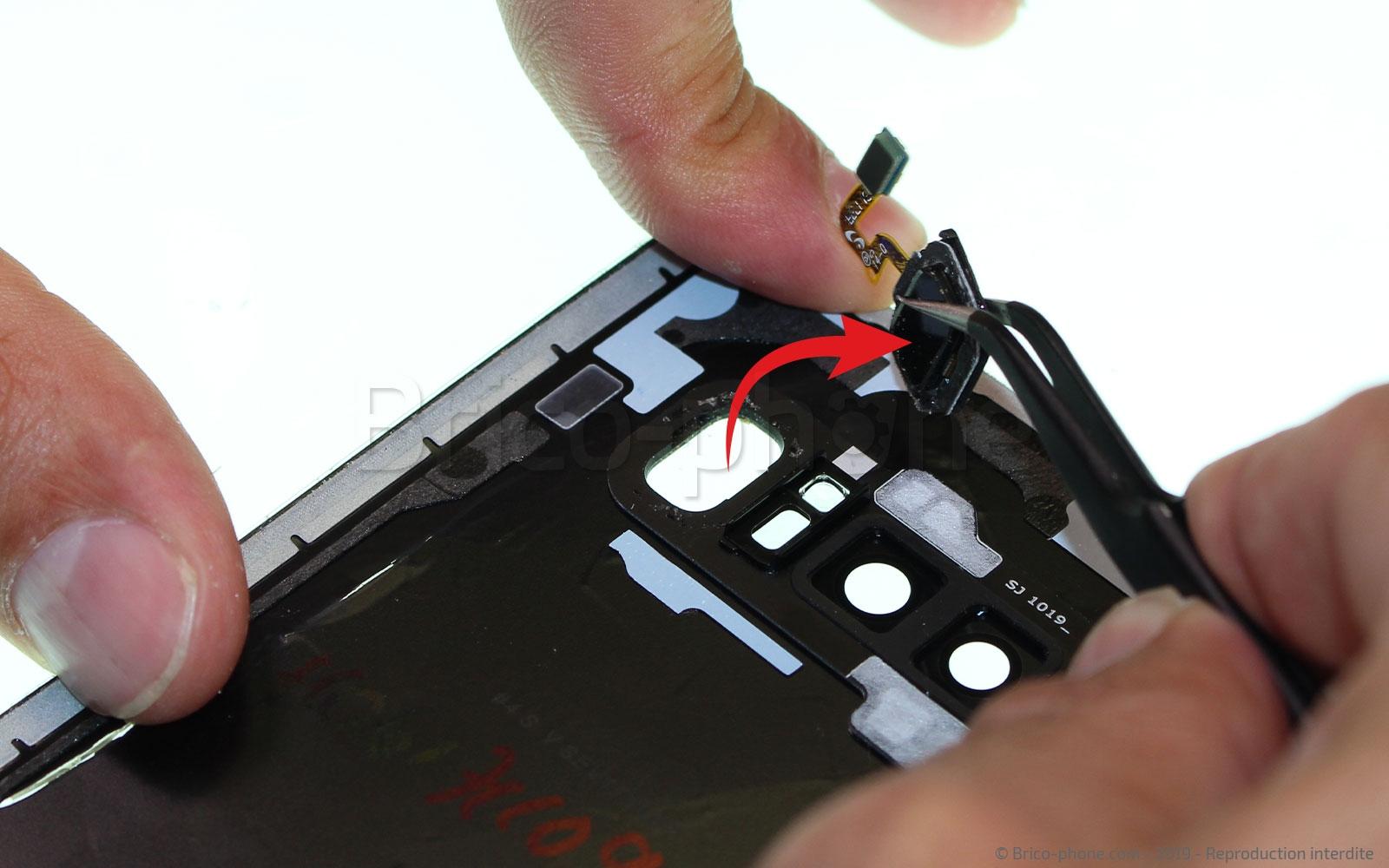Etape 6 : Récupérer le scanner d'empreintes