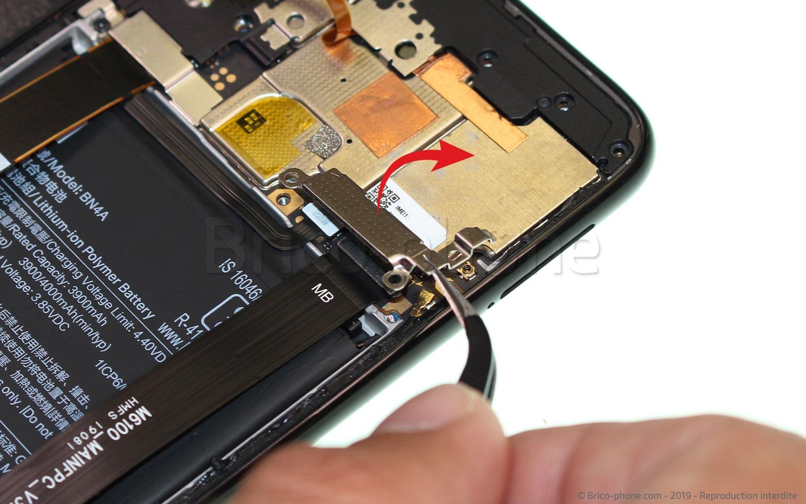 Etape 4 : Déconnecter la batterie
