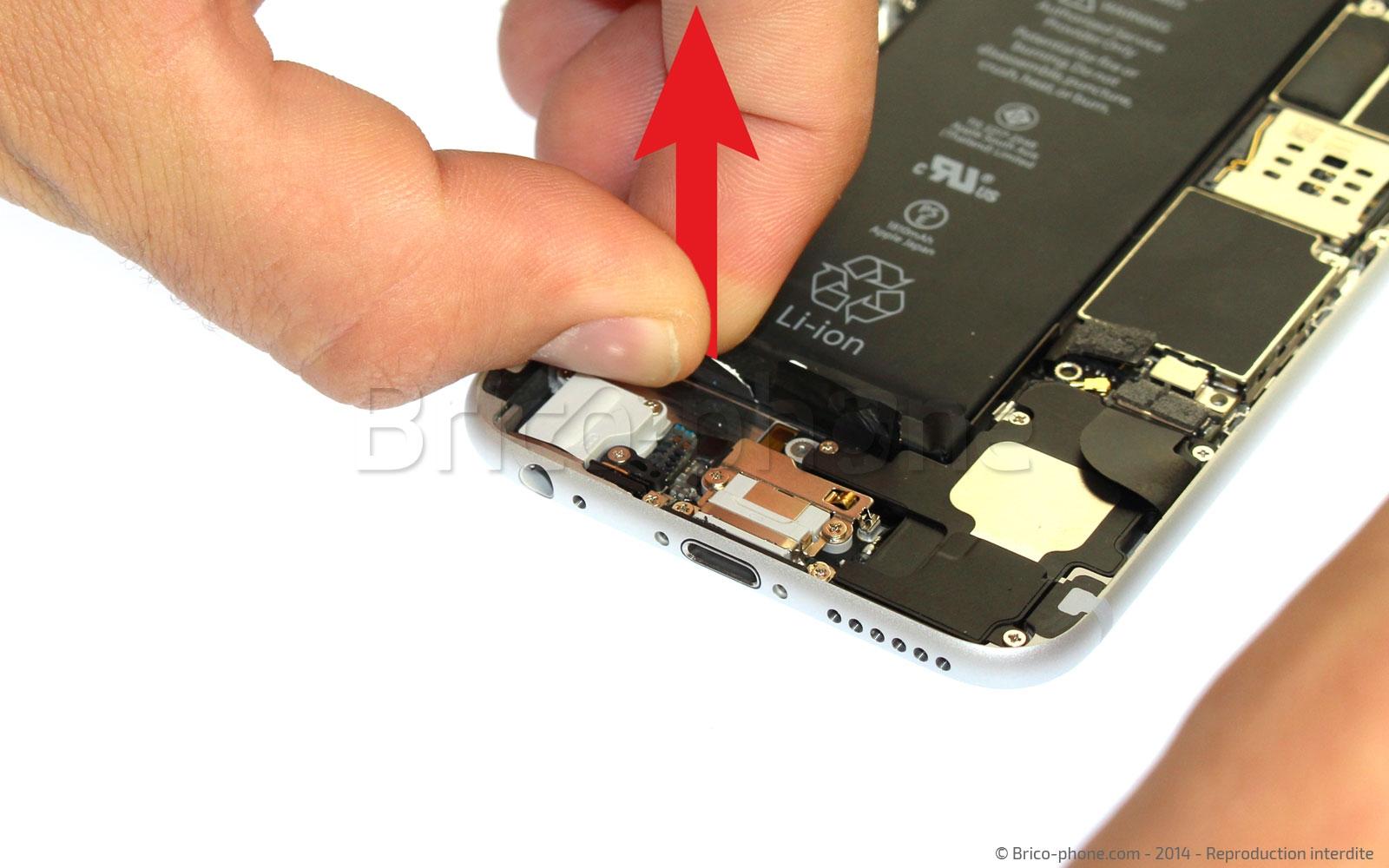 Etape 10 : Tirer les stickers de batterie